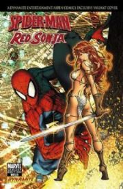 Spider-man Red Sonja Comics